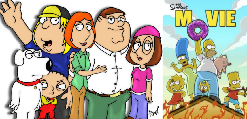 Family Guy Movie Happening Another Simpsons Movie Coming Too Iradio