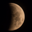 Here's the best time to see the partial lunar eclipse tonight