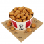 KFC has announced an 80-piece popcorn chicken bucket