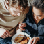 It takes women around 5 months into a relationship until they willingly share food, study says