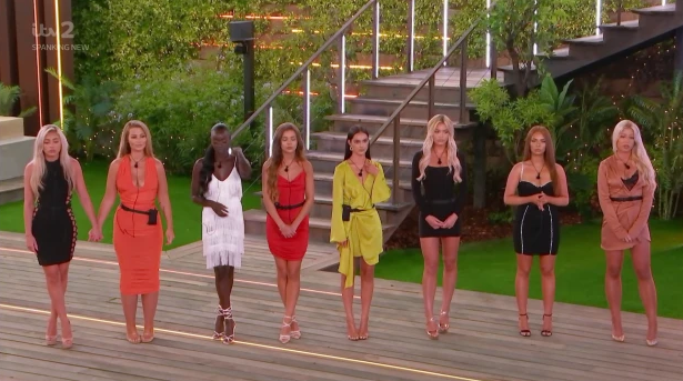 One girl will be dumped from Love Island tonight