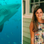 Pregnant wife saved husband from shark attack