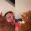 Man's goes viral for teaching his cat how to 'laugh'
